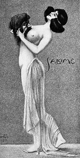 Gravure de Salomé par Kraus